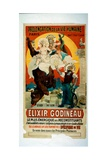 Poster for Elixir Godineau  c1900