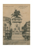 Picturesque Auvergne - Statue of Vercingetorix by Bartholdi in Clermont-Ferrand Postcard Sent in…