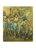 Four Dancers; Quatre Danseuses  1903