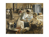 The First Wounded  London Hospital  1914  1914
