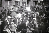 Refugees in St Petersburg  1915