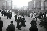 Soldiers Leaving for the Front  St Petersburg  1917