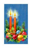 Christmas Candles  1970
