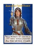 Joan of Arc Saved France  1918