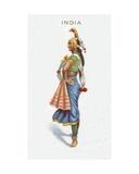 India  Cigarette Card  1915