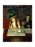 The Absinthe Drinkers  1908
