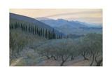 Sunrise  Umbria  1914