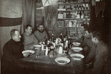 The Men  Midwinter's Day Dinner  British Antarctic Expedition  Cape Evans  22nd June 1912