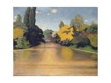 Bois de Boulogne  Las St James  1918