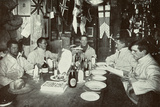 The Officers  Midwinter's Day Dinner  British Antarctic Expedition  Cape Evans  22nd June 1912
