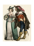 Fashionable German Couple of the 1600s