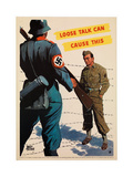 Loose Talk Can Cause This  1942