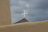 Cross Atop the Spanish Colonial Church of St Francis of Assisi  Ranchos De Taos