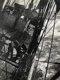 At the Pumps in a Gale in the Antarctic Ocean  1912