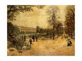Les Jardins des Luxembourg  Paris  1904