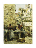 The Washerwomen  1906