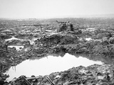 Battlefield Near Passchendaele  Flanders  October 1917