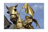 Equestrian Statue of Joan of Arc  Paris  France