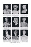 Roman Emperors Who Visited Britain  Illustration from 'Hutchinson's History of the Nations'  c1910