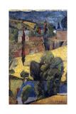 Landscape; Paysage  1906