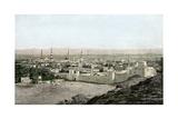 Islamic Holy City of Medina in Arabia  1800s