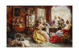 An Afternoon in the Salon  1902