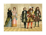 Persons of Distinction  From a Picture at Goodrich Court  C 1680