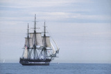 "USS Constitution ""Old Ironsides"" Under Sail  Massachusetts Bay  Celebrating Its Bicentennial  1997"