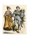 German Prince and Princess  1500s