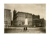 The Auditorium in Chicago  Circa 1890