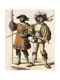 Servants or Guards of a German Country Estate  1500s