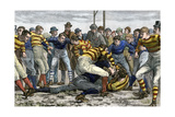 Scoring a Goal in English Football  1880s