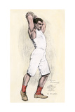 Discus Thrower in the Athens Olympic Games  1896