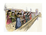 Gethsemane Baptist Church Choir Singing a Christmas Hymn  Philadelphia  1890