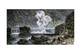 Intense Meteor Shower Seen Over Niagara Falls in 1833