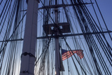 USS Constitution's Masts and Rigging  Boston