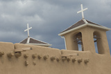Adobe Architechture of the Spanish Colonial Church of St Francis of Assisi  Ranchos De Taos