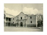 The Alamo in San Antonio TX  Circa 1890