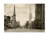 North Broad Street in Philadelphia  Circa 1890