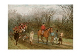 Hunters and Hounds in England  1800s
