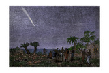 Great Comet of 1882  Seen Over the Cape of Good Hope  South Africa