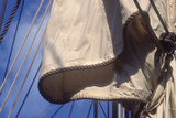 USS Constitution's Mainsail Detail  Boston