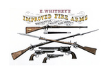 Advertisement for Whitney's Improved Firearms  1800s