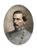 General PGT Beauregard in His Confederate Uniform  1865