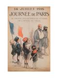 Journee De Paris 14 Juillet 1916