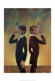 The Duel Reproduction d'art par Aaron Jasinski