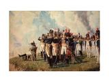 Napoleon Bonaparte on the Borodino Hights