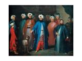 Mehmed Said Efendi And His Retinue