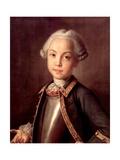 Portrait of Count Nikolai Petrovich Sheremetev As Child