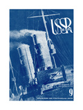 USSR in Construction Cover Design